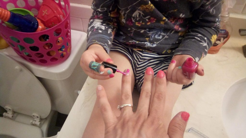 daughter-painting-nails-parents-teaching-best